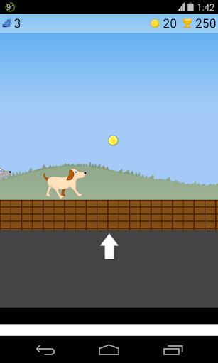 跳躍犬のゲーム