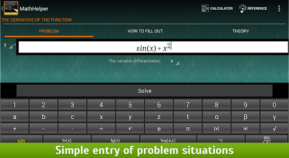 MathHelper: Algebra & Calculus - screenshot thumbnail