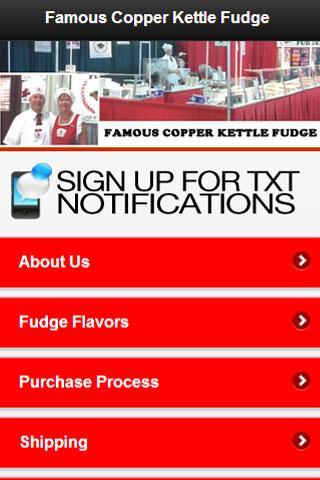 Famous Copper Kettle Fudge