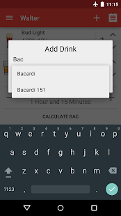Blood Alcohol Finder - screenshot thumbnail