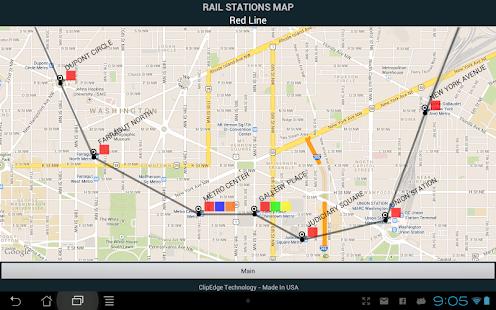 DC Metro ETA - screenshot thumbnail