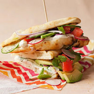 Veggie Flatbread Sandwiches