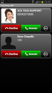 3CXPhone for Phone System v12 - screenshot thumbnail