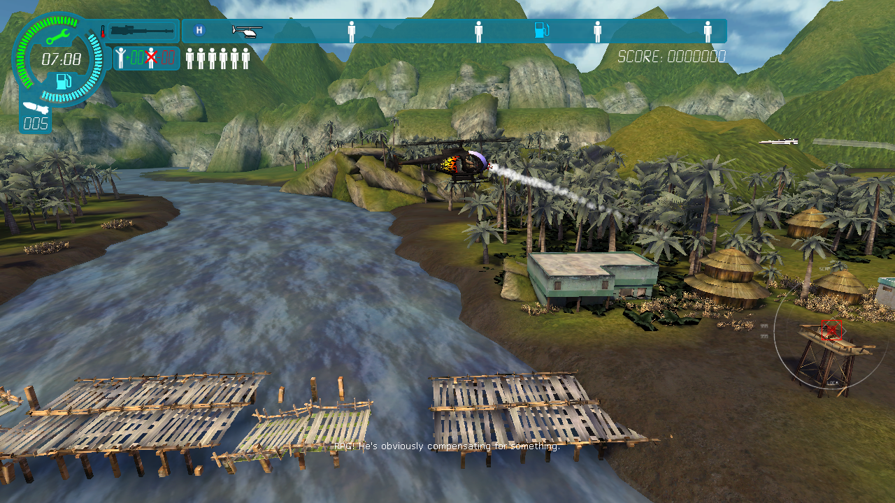 Choplifter HD - screenshot