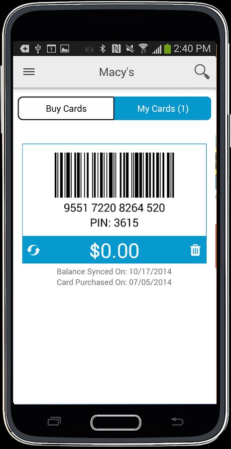 SaveYa - Buy & Sell Gift Cards - screenshot