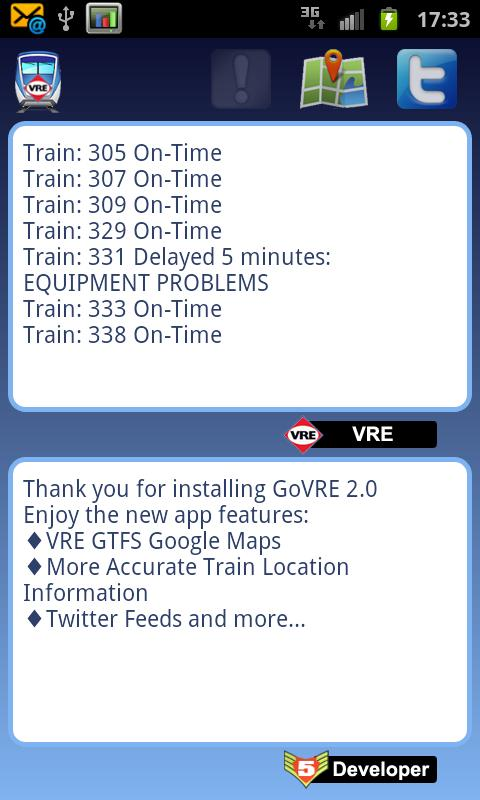 Go VRE - screenshot