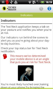 Text Neck Indicator LITE - screenshot thumbnail