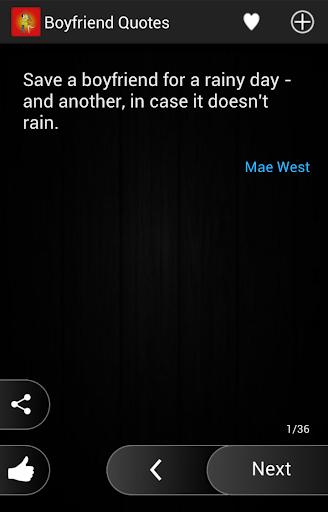 Boyfrend Quotes