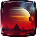 Space Planets Live Wallpaper icon