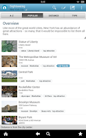 Screenshot of New York City Guide by Triposo