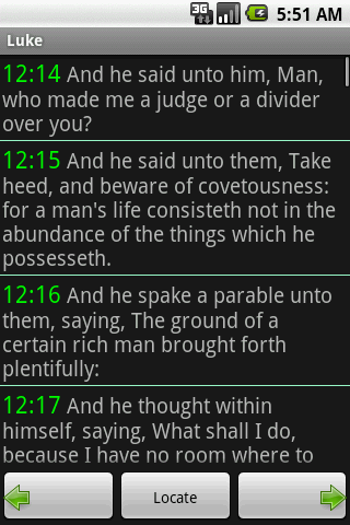 Bible KJV - screenshot