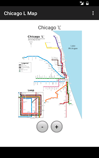 Chicago 'L' Map
