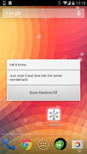 The Snow Maker - Let it snow