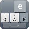 Cool Grey Keyboard Skin icon