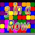 3 Blocks  in a Row logo