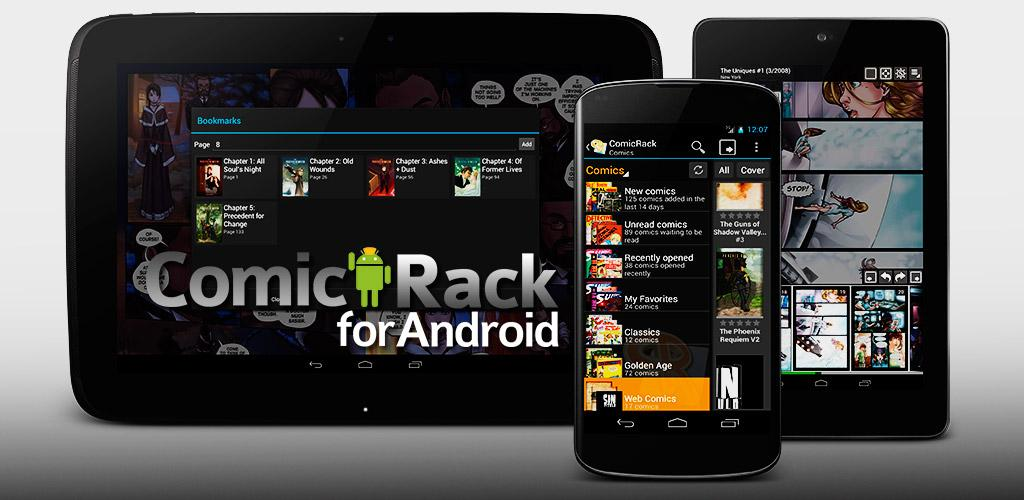 Download ComicRack APK latest version app for android devices