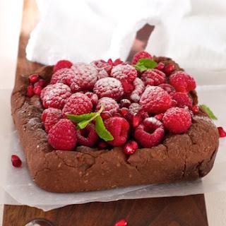 Chocolate Oatmeal Pudding Breakfast Cake