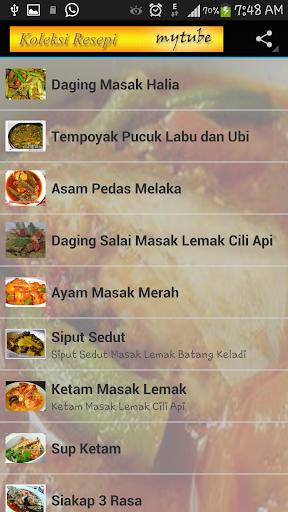 Koleksi Resepi Masakan Bonda