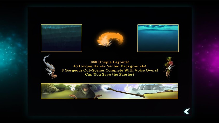 Faerie Solitaire HD (Full) Screenshot