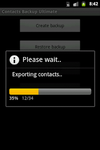 Contacts Backup Ultimate Full screenshot 2