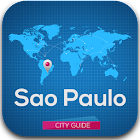 Sao Paulo Guide Map & Hotels icon