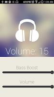 Screenshot of Another Bass Booster