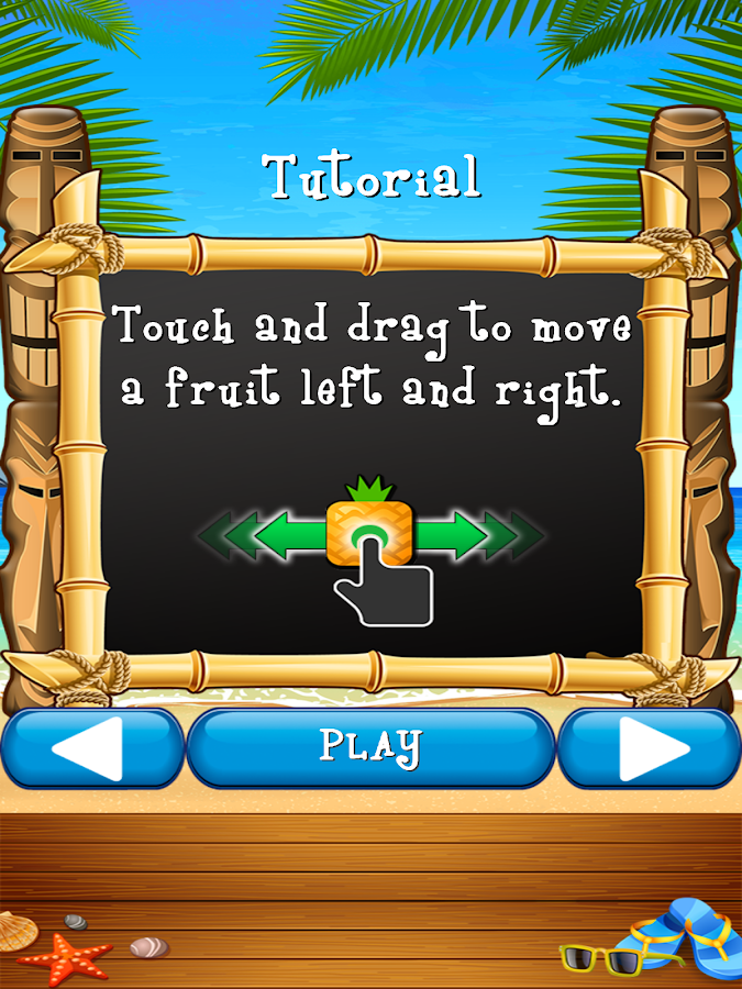 Fruitiki- screenshot