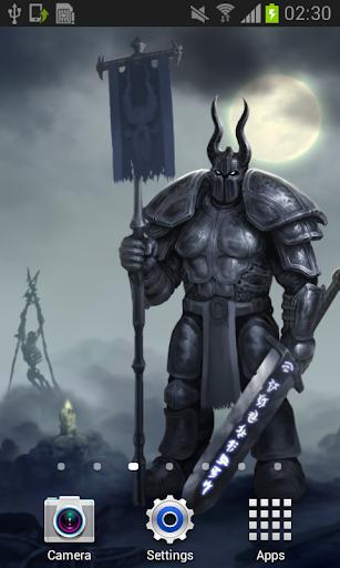 Knight Dark Fantasy Live Wallpaper Art Best HD LWP 1.1.4 screenshots 1