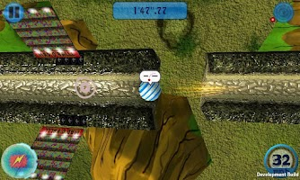 Screenshot of Mad O Ball 3D