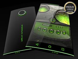 Screenshot of Steampunk Green - Next Theme