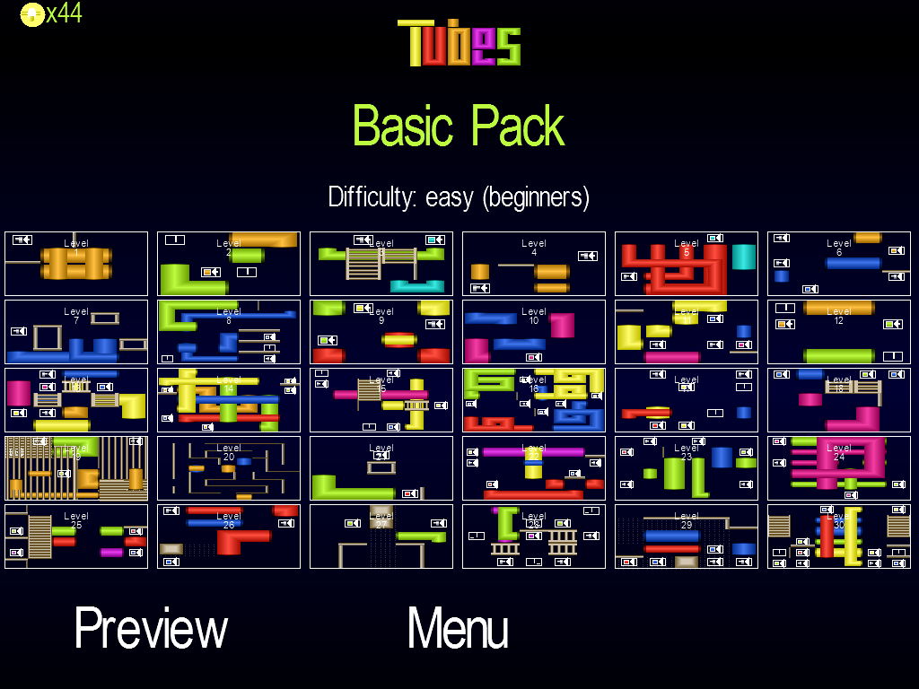 Tubes: Think, Move & Solve- screenshot