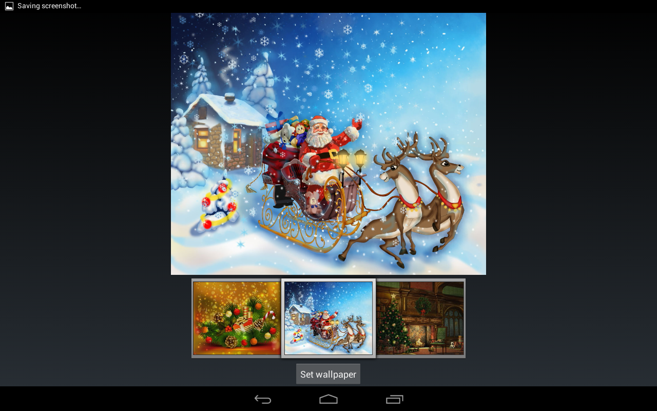 Google themes rasta - Merry Christmas The Theme Screenshot
