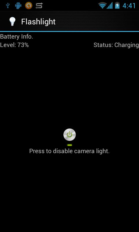 Torch Flashlight App - screenshot