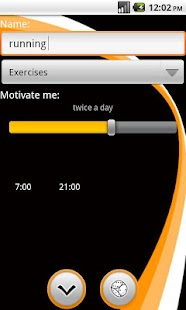 Motivate Me to exercise - screenshot thumbnail
