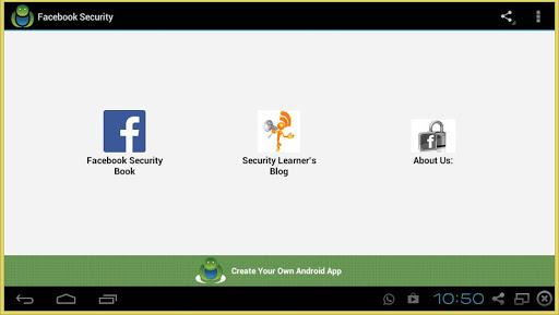 Facebook Security Book
