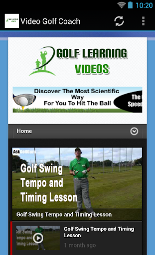 Video Golf Coach