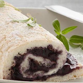Blueberry Cake Rolls