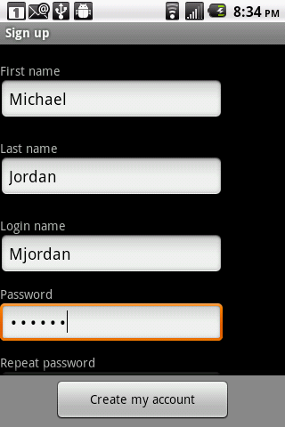 LockItTight for Android- screenshot