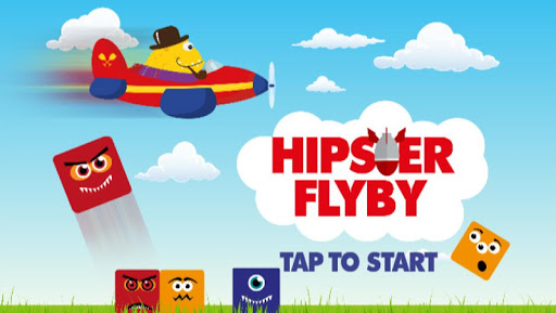 Hipster Flyby