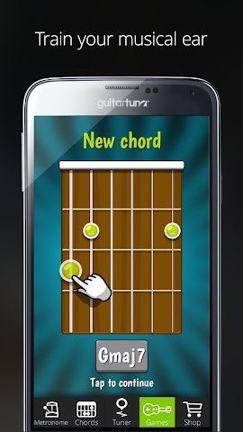 android Accordeur Guitares -GuitarTuna Screenshot 16