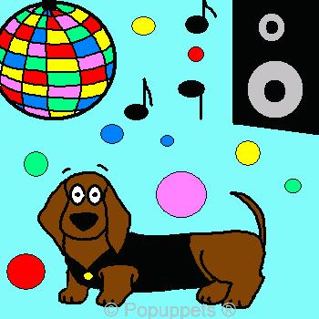 Cartoon Pet Puppy Dog Promo