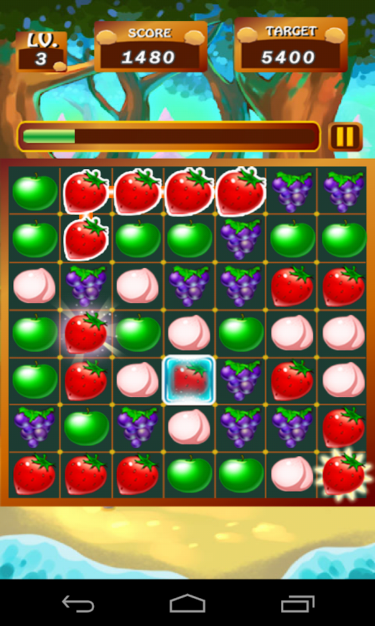 Fruits Line - screenshot