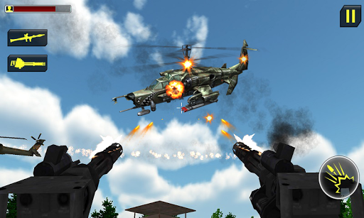 Gunship Air Attack: Helicopter