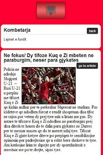 Albania Soccer- screenshot thumbnail