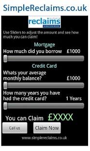 PPI Claim Calculator- screenshot thumbnail