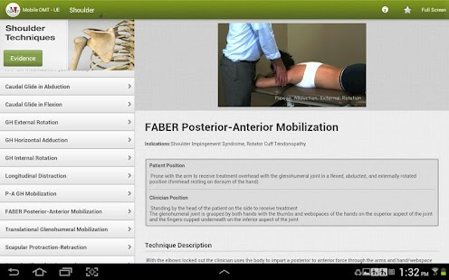 Mobile OMT Upper Extremity- screenshot thumbnail