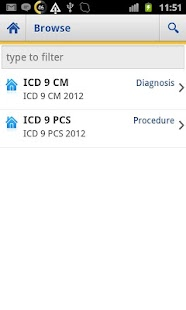 ICD 9 Lite 2012- screenshot thumbnail