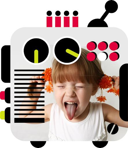 免費攝影App|机器人相框|阿達玩APP