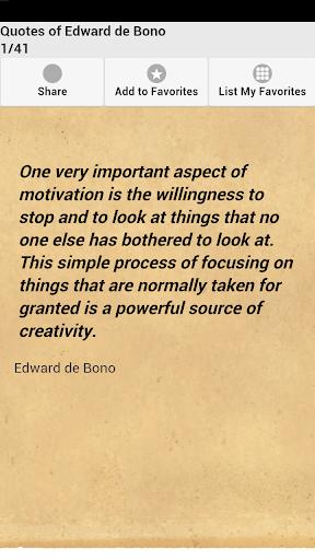 Quotes of Edward de Bono