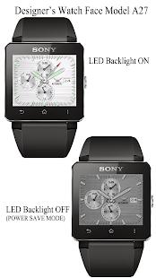 A27 WatchFace for SmartWatch2